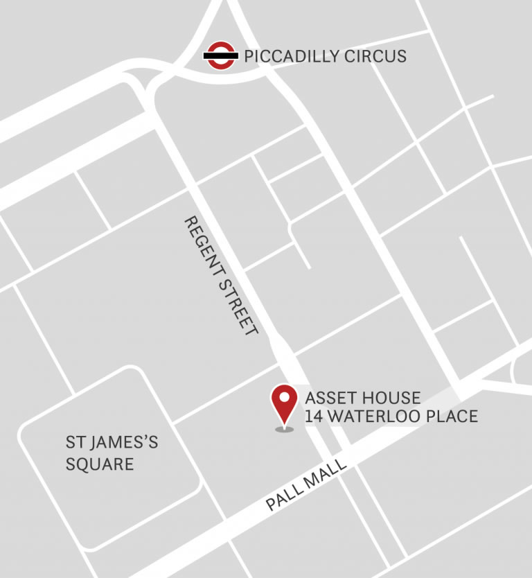 Map of Asset House